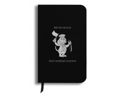 Brunel Beagle Notebook: Black
