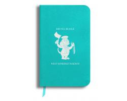 Brunel Beagle Notebook: Blue