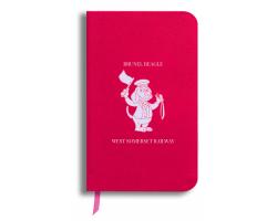 Brunel Beagle Notebook: Coral