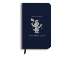 Brunel Beagle Notebook: Navy