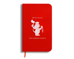 Brunel Beagle Notebook: Red