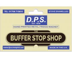 The Buffer Stop Shop Fridge Magnet