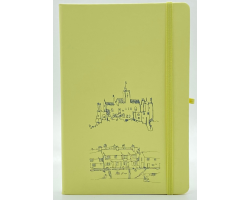 Pastel Yellow A5 Notebook