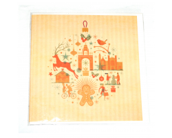 Chester Gingerbread Christmas Card