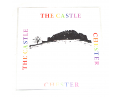 Chester Castle Greetings Card
