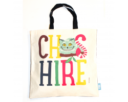 Love Your Nation Cheshire Cat Tote Bag