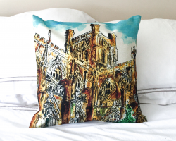 Chester Cathedral Cushion Cover