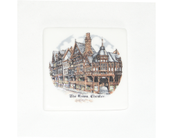 Ceramic Chester Rows Magnet