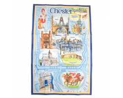 Chester Landmarks Tea Towel