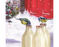 Christmas Morning Milk