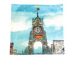 Chester Easgate Clock Cushion Cover