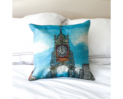 Chester Easgate Clock Cushion Cover Image