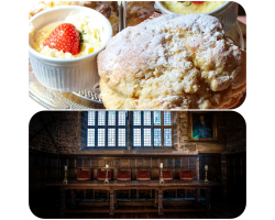 Afternoon Tea with Prosecco or Peroni and Guided House Tour