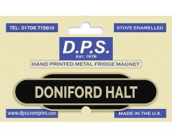 Doniford Halt Fridge Magnet