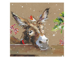 Donkey & Mistletoe