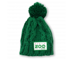 Green Knitted Hat (3 - 6 Years)