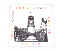 Chester Eastgate Greetings Card