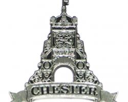 Chester Eastgate Clock Metal Keyring
