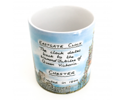 Chester Eastgate Clock Mug Image