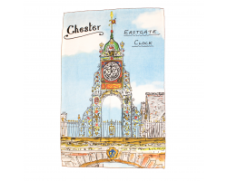 Chester Eastgate Clock Tea Towel