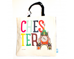Love Your Nation Chester Eastgate Clock Tote Bag
