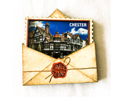 Chester Postcard Magnet