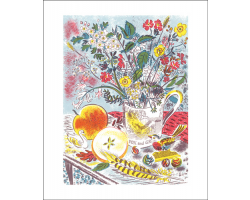 Fox and Grapes greetings card