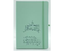Pastel Green (Mint) A5 Notebook