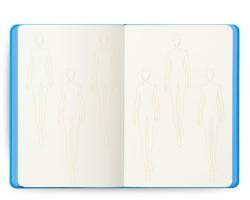 Fashionary Sketchpad A5 Womens Blue