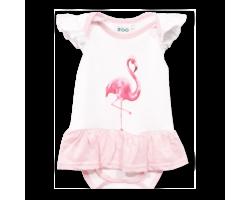 Dress Vest - Flamingo (6 - 12 Months)