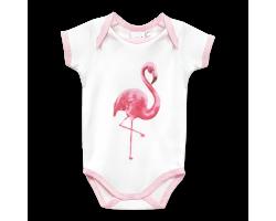Vest - Flamingo  (0 - 6 Months)