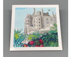 St Michael's Mount Garden Greeting Card
