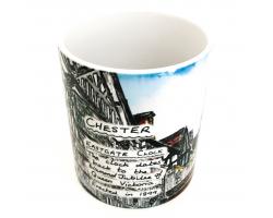 Chester Eastgate Street Mug Image