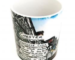 Chester Eastgate Street Mug