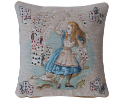 Alice in Wonderland Cards Cushion Cover