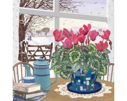 A Winter's Day greetings card