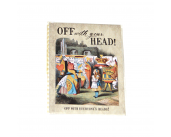"Alice in Wonderland ""Off With Your Head!"" Magnet"