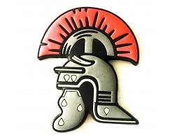 Roman Centurion Helmet PVC Magnet