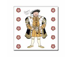 Henry VIII coaster
