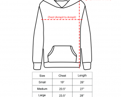 Chester Hoodie - Adult Small