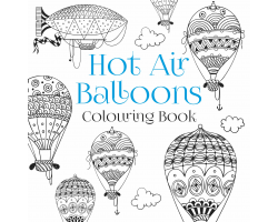 HOT AIR BALLOON COLOURING BOOK