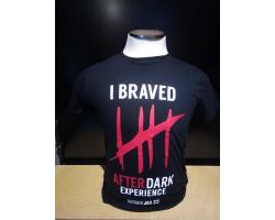 Adult T-shirt I Braved Bodmin Jail After Dark XL