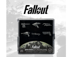 Set of 6 Fallout Pin Badges