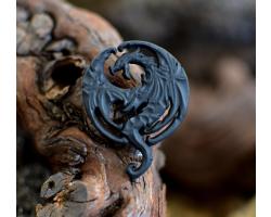 Elder Scrolls Dragon Pin Badge