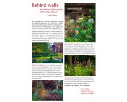 Behind walls: Enchanting hidden gardens of the Charterhouse (Hardback) Image