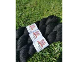 100% Alpaca Wool - Black