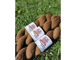 100% Alpaca Wool - Brown Image