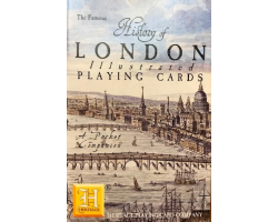 History of London Illustrated Pack of Playing Cards