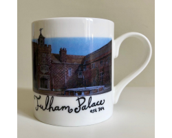 Tudor Courtyard mug