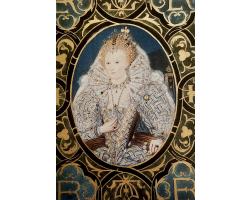 Queen Elizabeth I greetings card